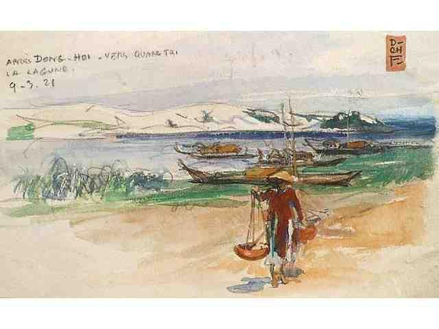 le vietnam par des peintres francais du