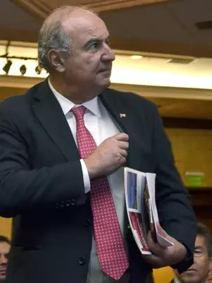 Ministro de Agricultura Luis Mayol Foto: UPI