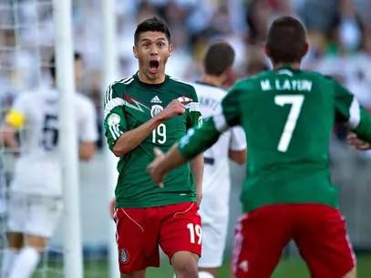 Oribe Peralta fue la figura de México en el repechaje contra Nueva Zelanda Foto: Imago