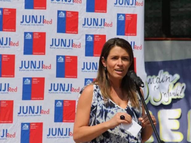 La ex directora de la Junji, María Francisca Correa, fue elegida presidenta del nuevo partido Evópoli. Foto: Agencia Uno