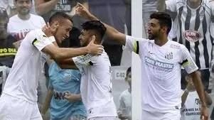 Veja os gols de Santos 2 x 1 Palmeiras pelo Paulista