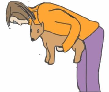 Heimlich petit chien
