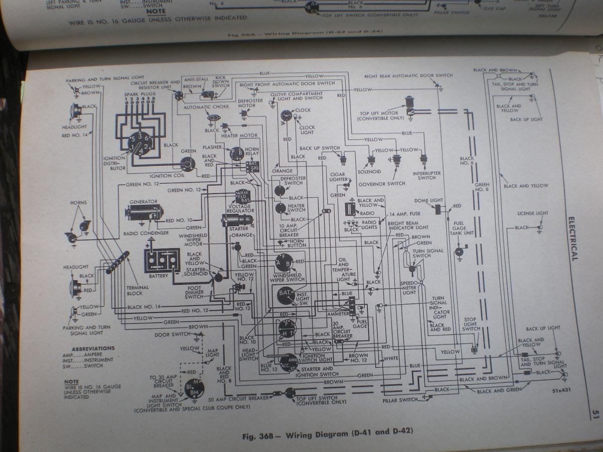 hight resolution of 1949 desoto wiring diagram wire harness pioneer deh p8400bh 1952 desoto 1945 desoto