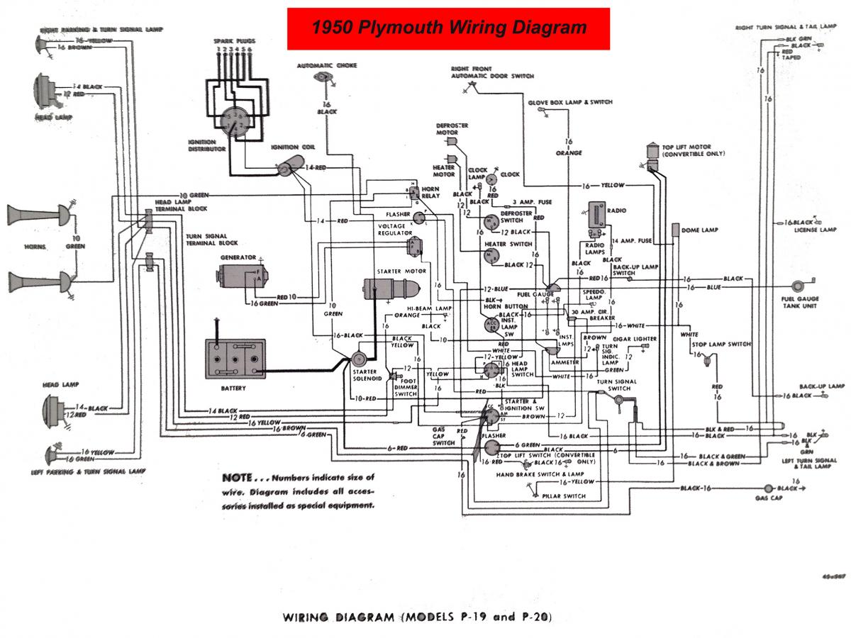 Plymouth Wiring Diagrams