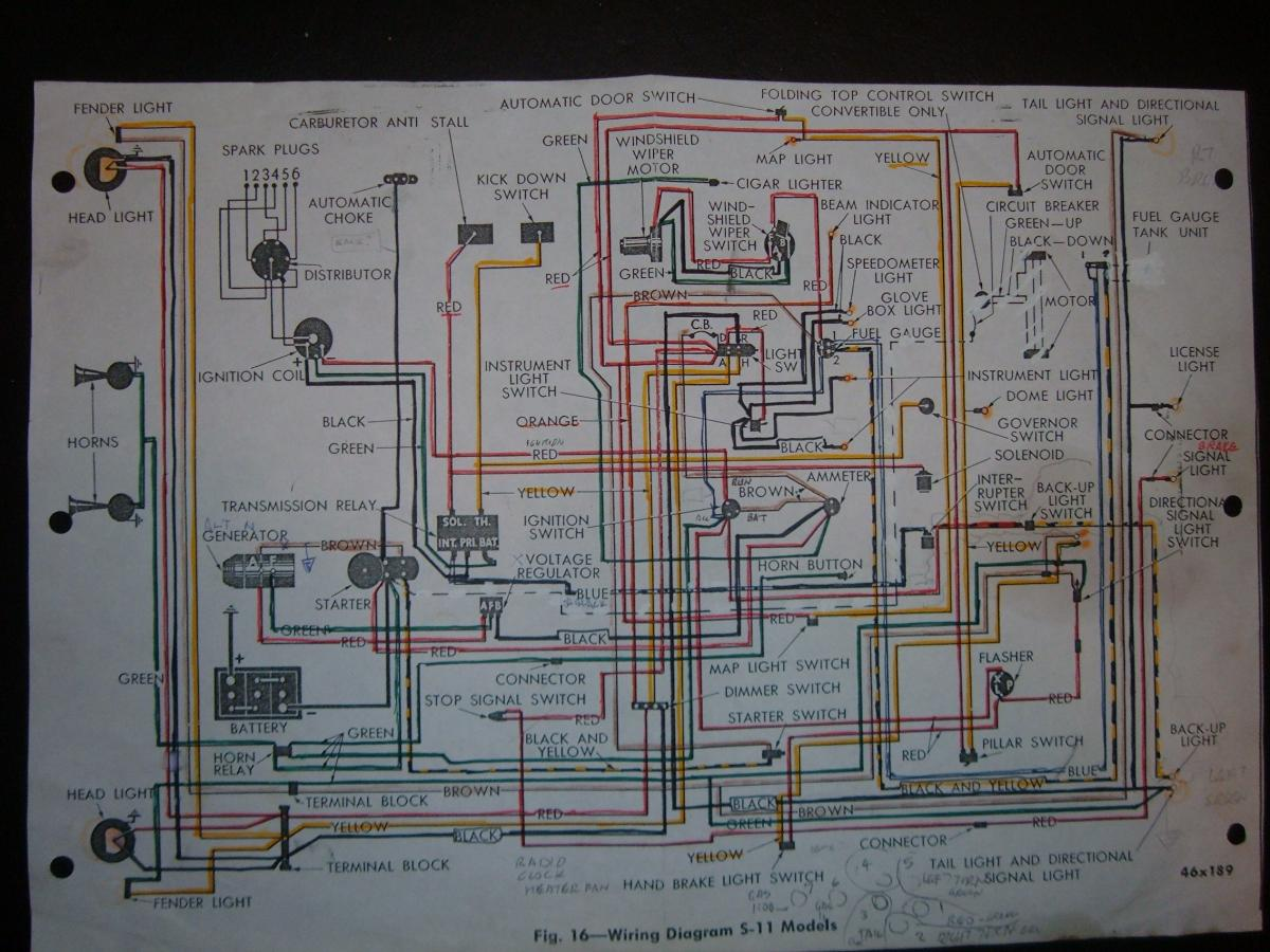 hight resolution of 1946 chevy 1 5 ton truck wiring diagram