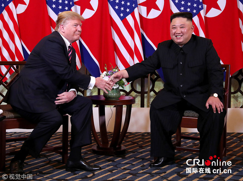 金正恩特朗普在越南舉行朝美領導人第二次會晤(高清組圖)-國際在線