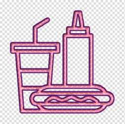 Lunch icon Meal icon Street Food icon Line Angle Purple Meter Mathematics Geometry transparent background PNG clipart HiClipart