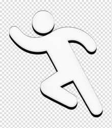 Man running icon Run icon IOS7 Set Filled 2 icon People Icon Royaltyfree Logo Cartoon Poster transparent background PNG clipart HiClipart