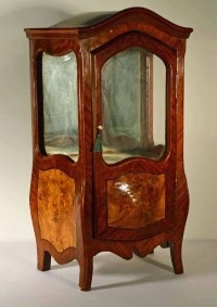 Miniature French Bombay Style Curio Cabinet : Lot 68
