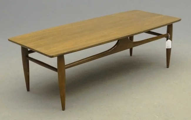 71 Mid Century Mersman Coffee Table  Lot 71