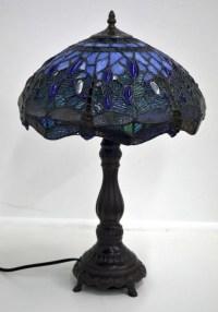 Tiffany Lamp (BLUE) : Lot 366