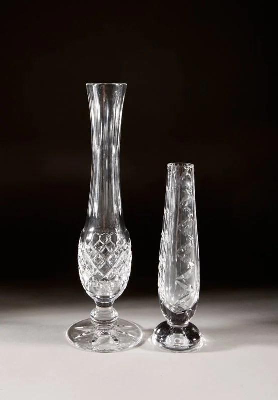Gorham Crystal Bud Vases