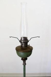 ANTIQUE ALADDIN FLOOR LAMP : Lot 204
