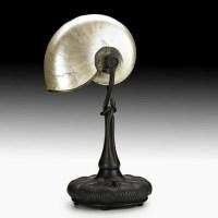 950: TIFFANY STUDIOS Nautilus lamp : Lot 950