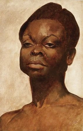 Painting of Black Woman