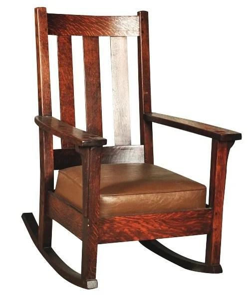 333 Limberts Oversized Rocking Chair  Lot 333