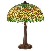 65: Handel lamp, leaded glass shade : Lot 65
