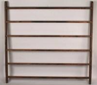 680: Antique hanging quilt rack : Lot 680