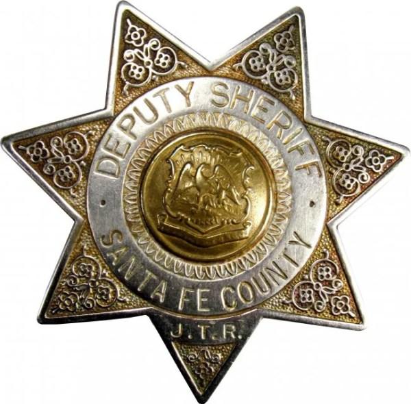 Santa Fe County Deputy Sheriff Badge Lot 1922