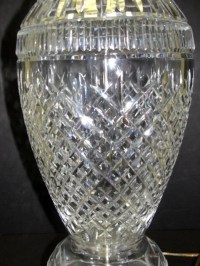 137: Waterford Crystal Lamp '' Tramore Collection'' : Lot 137