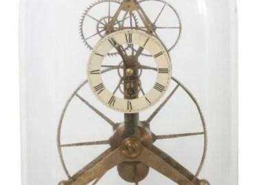 Great Wheel Skeleton Clock Design