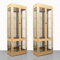 Pair of Mastercraft Display Cabinets/tagres : Lot 66