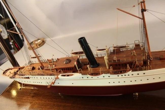 Museum Quality Model Presidential Yacht Mayflower
