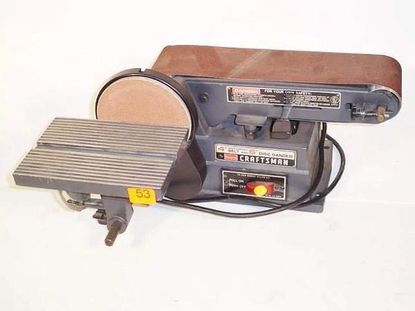 53 Sears Craftsman Bench Sander Model 11322
