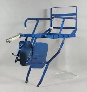 130A Vintage Blue Schwinn Bicycle Child Seat Attachmen Lot 130A