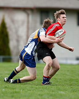 Olahraga Rugby : olahraga, rugby, Rugby,, Tekel,, Pemain,, Bidang,, Rumput,, Ragbi,, Menangani,, Kompetisi,, Tindakan, Piqsels