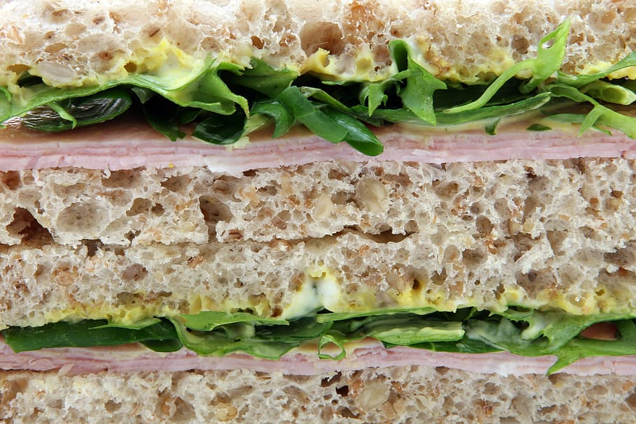 分層三明治, 食欲, 面包, 棕色, 包子, 卡路里, 餐飲業, 橘皮, 免版稅, CC0, 公共領域 | Piqsels