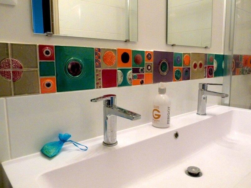 Salle de bain Corine  Ceramique Julie Erlich