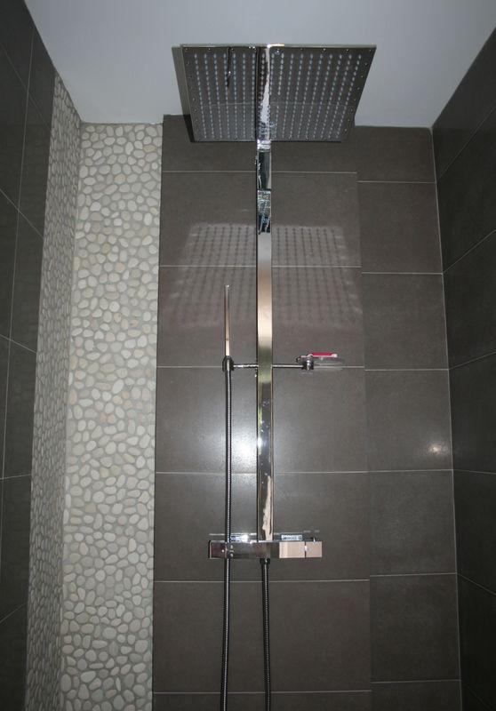 Notre douche  lItalienne   ossature bois
