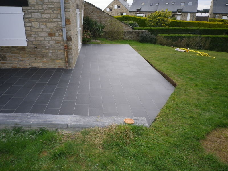 Mod Le Decoration Terrasse Beton Sonta Berry