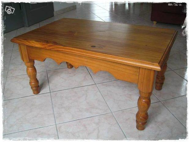 Nouveau Look Pour Table En Pin Broc Et Patine Le