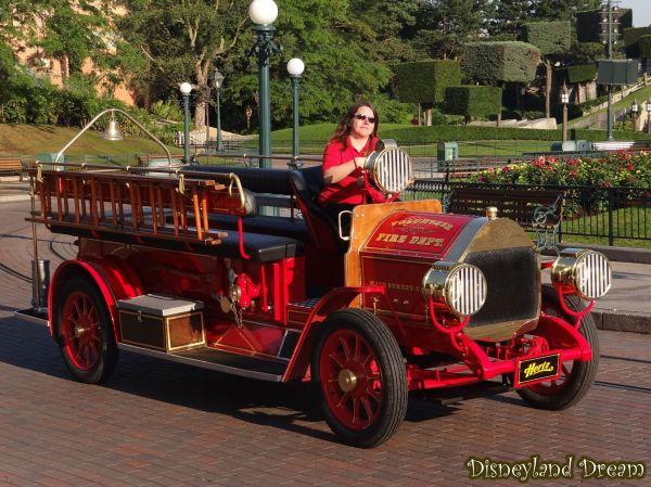 Main Street Vehicles - Disneyland Dream