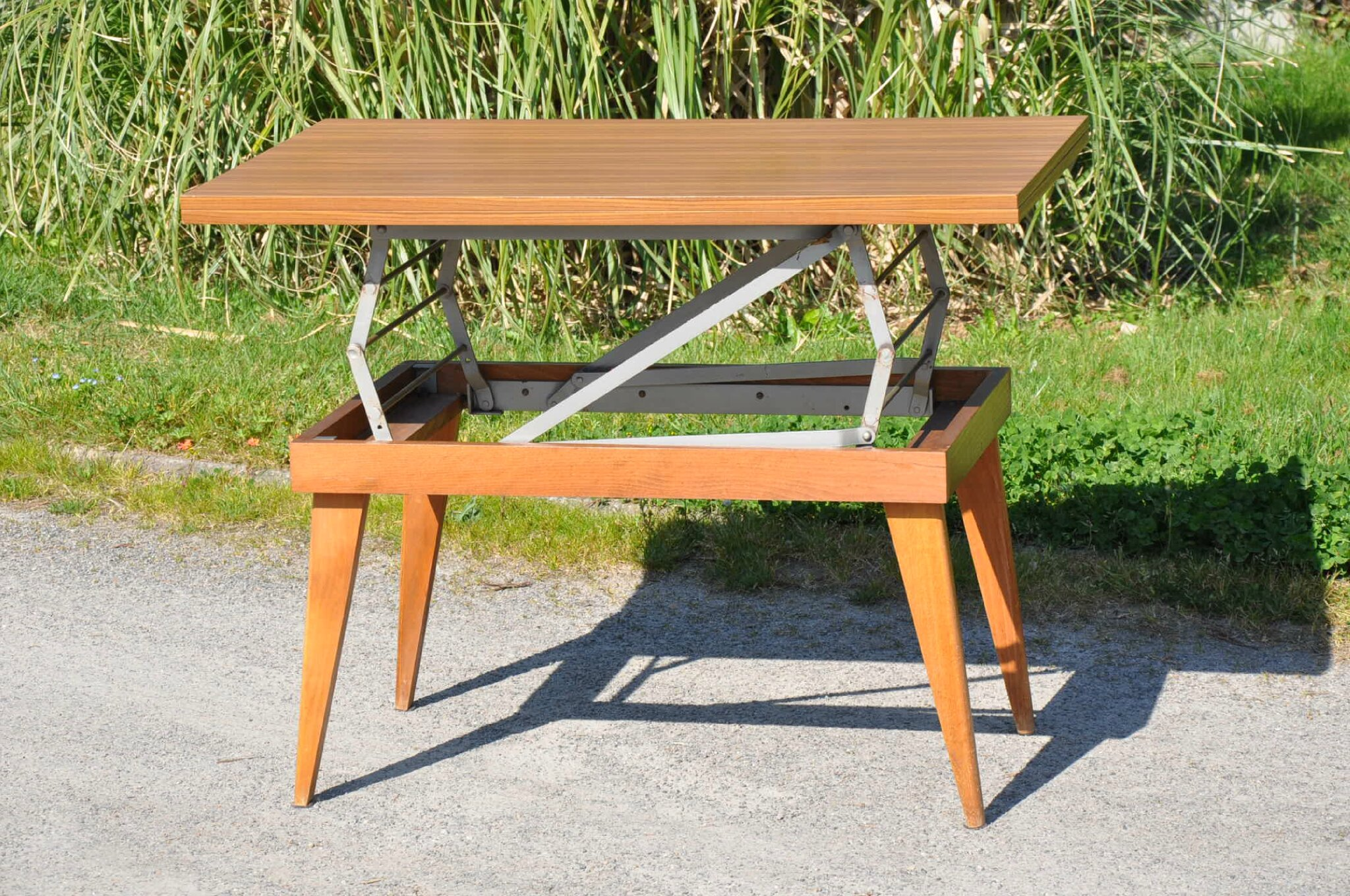 Table Basse De Jardin Transformable