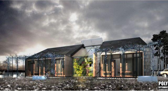Une serre bioclimatique  La cabane au fond du vexin