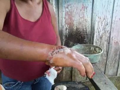 O grupo não contava com condições mínimas de saúde e higiene Foto: PF / Divulgação