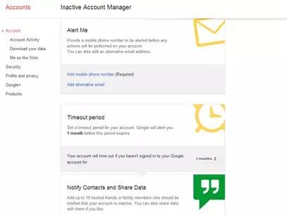Usuário deve configurar serviço notificações e acessos Foto: Reprodução