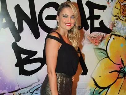 A atriz na festa de lançamento da novela Foto: Caio Duran/Thiago Duran / AgNews