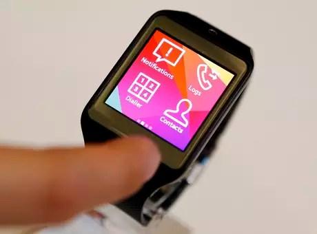 Executivo da Samsung confirmou o lançamento do wearable com Android para 2014 Foto: Reuters