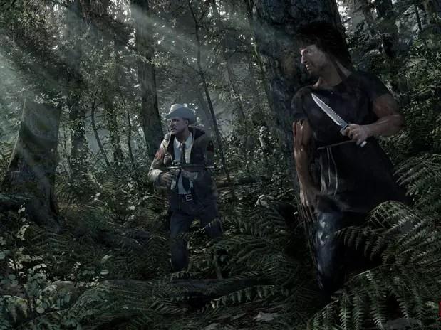 Em primeira pessoa, 'Rambo The Video Game' chega ainda em 2013 para Xbox 360, PS3 e PC Foto: Divulgação