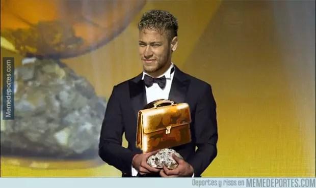 Ida de Neymar para o PSG gerou memes nas redes sociais Foto: Humor Esportivo / Humor Esportivo