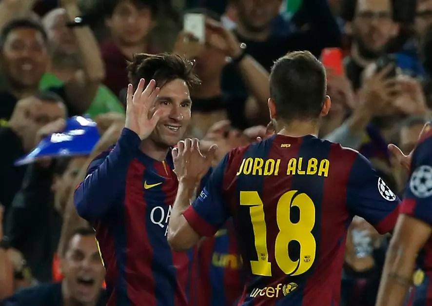 Sempre ele! Messi marca dois gols no segundo tempo e comanda a vitória do Barcelona em casa Foto: Emilio Morenatti / AP