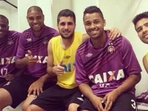 Adriano deve ser apresentado antes do jogo de quarta-feira, contra o Sporting Cristal Foto: Divulgação
