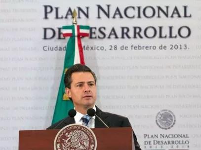 Peña dijo que el Gobierno tiene un rumbo claro y que se respetarán las voces de la sociedad en la elaboración del Plan. Foto: Presidencia
