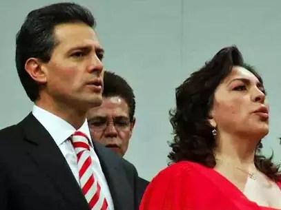 El Mandatario federal fue arropado por los priistas durante la 21 Asamblea Nacional. Foto: Reforma