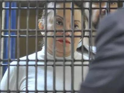 Elba Esther Gordillo permanece encarcelada acusada de desvío de recursos y delincuencia organizada. Foto: Cortesía PGR