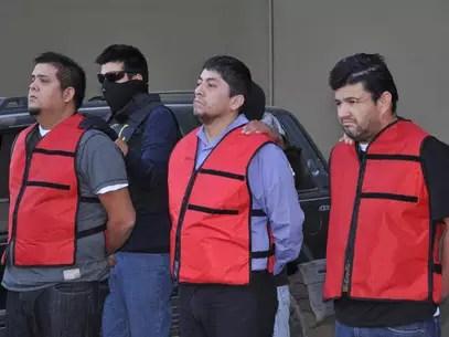 Los criminales fueron identificados como Raúl Escobedo Álvarez, de 35 años; Miguel Ángel Andrade Martínez, de 42, y José Antonio Reyes Tovar, de 48 Foto: Emilio Vásquez / Terra